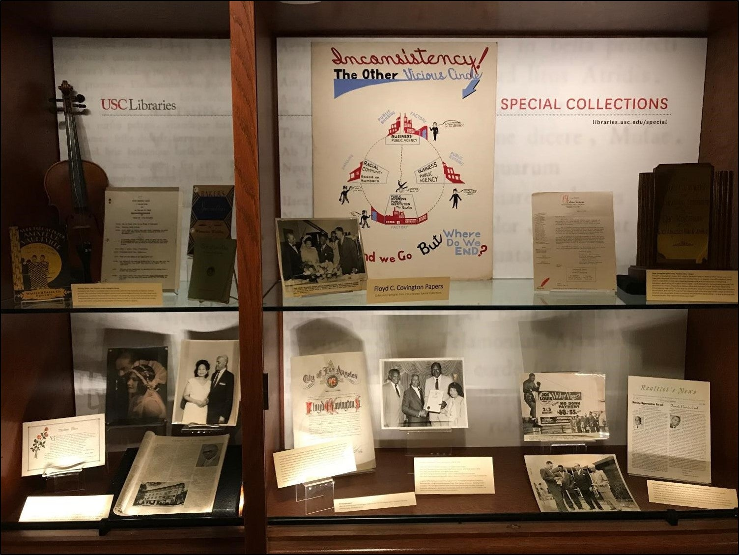 Floyd C. Covington papers - Special Collections display