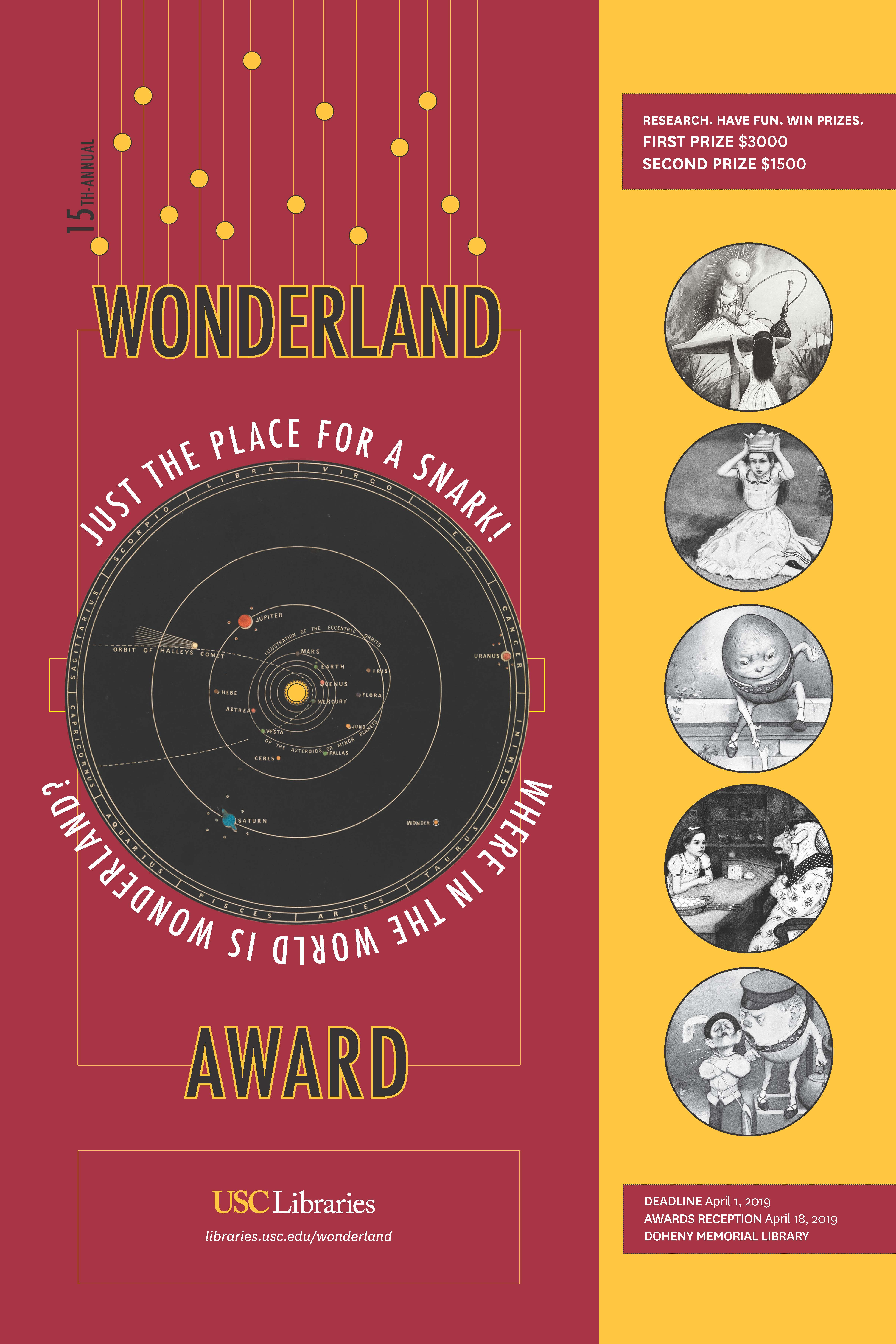 USC Libraries 15th-Annual Wonderland Award