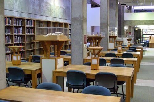 AFA Library Reading Room