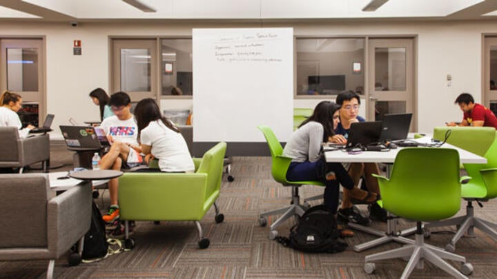 Leavey Library Study Space