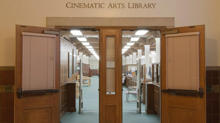 Cinematic Arts Library Exterior