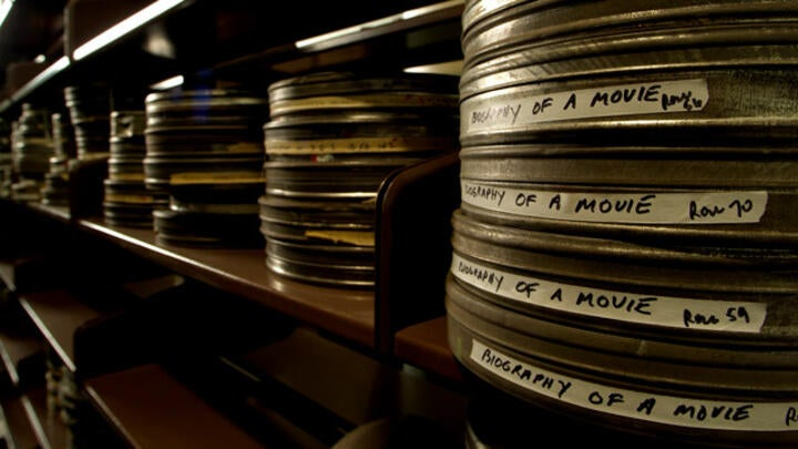 Cinematic Arts Library Film Reels