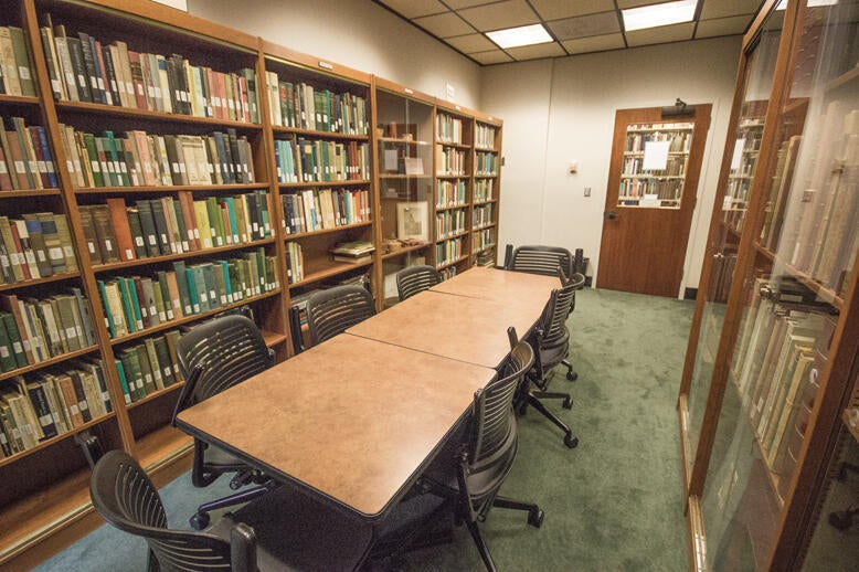 Webb Room in Norris Medical Library